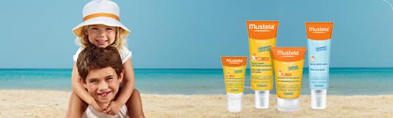 Mustela - protezione solare sin dalla nascita