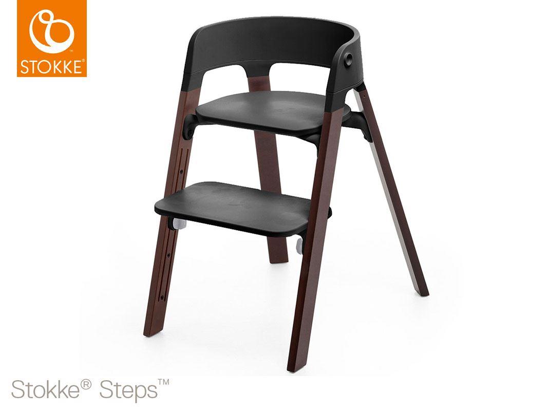 Stokke steps sedia in legno di faggio cosebimbi tutto for Sedia stokke bambini