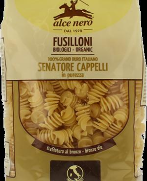 Alce Nero fusilloni di grano duro Senatore Cappelli biologici 500gr