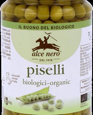 Alce Nero piselli lessati biologici 300gr
