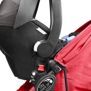 Baby Jogger adattatore auto City Mini Zip per convertire il passeggino in un sistema di viaggio su misura