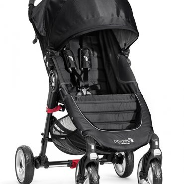 Baby Jogger City Mini 4 colore black gray