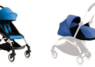 Babyzen Duo Yoyo telaio bianco colore blu