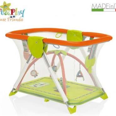 Brevi girello box Soft & Play base best friends