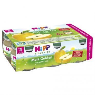 Hipp omogeneizzato di mela Golden x6 80gr