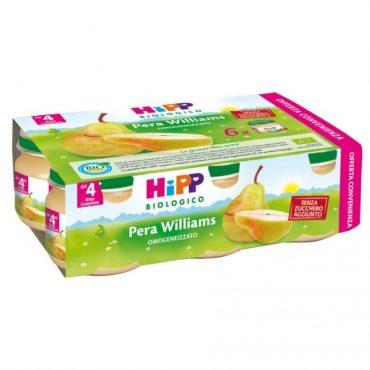 Hipp omogeneizzato di pera Williams x6 80gr
