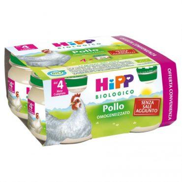 Hipp omogeneizzato di pollo x4 80gr