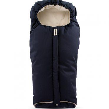 Inglesina sacco invernale passeggino colore blu