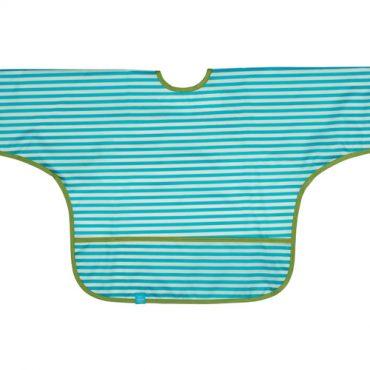 Lassig bavaglino impermeabile a grembiule colore azzurro