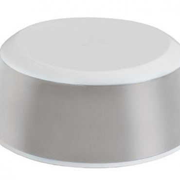 Luma Sgabello antiscivolo colore sparkling silver