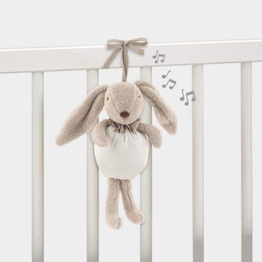 Pasito a Pasito coniglietto musicale Baby Etoile con melodia per far addormentare il bambino