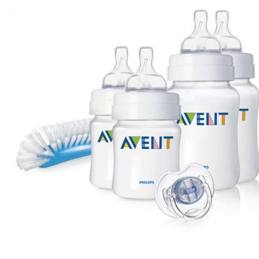 Avent/Philips Set Prime Poppate Natural in PP con biberon in polipropilene