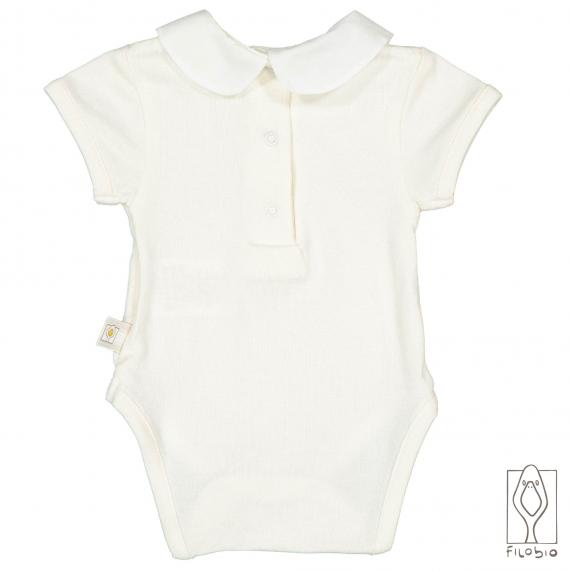 marchio famoso sconto più votato miglior sito body-per-neonato-in-bamboo-con-colletto-tondo (1 ...
