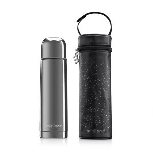 MiniLand Deluxe Thermos silver