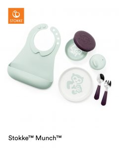 Stokke Munch completo soft mint