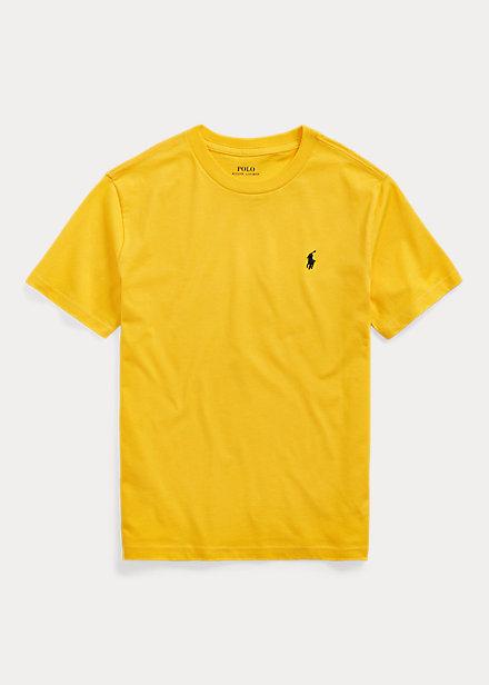 AS Roma T-Shirt Girocollo Bambino Giallo