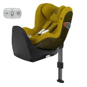 Cybex Platinum Sirona ZI I-Size Plus SensorSafe mustard yellow