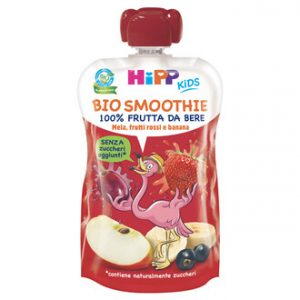 Hipp Smoothie Mela Frutti rossi e banana 120ml