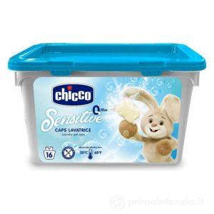 Chicco Detersivo Dosato Lavatrice 16 caps