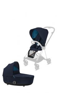 Cybex Platinum Mios Duo carrozzina e passeggino nautical blue
